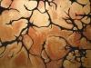 Mélanie, toile sur châssis brochet, amazonite 130x200cm, 2009
