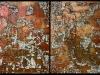 Melanie brochet, diptyque cracks, 2011 ,70x50cmx