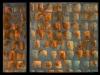 Melanie brochet, diptyque aux carreaux serie 3, 2009 ,60x20-60x60cm
