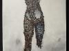 melanie, brochet, hommage-artiste-guerre, 115x89cm, 2011