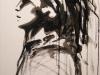 Melanie brochet, profil, toile sur chassis, 50x70cm, 2012