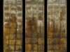 Melanie brochet, triptyque aux carreaux-serie-2, 100x75cm, 2010